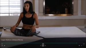 rana from here video review of the casper mattress