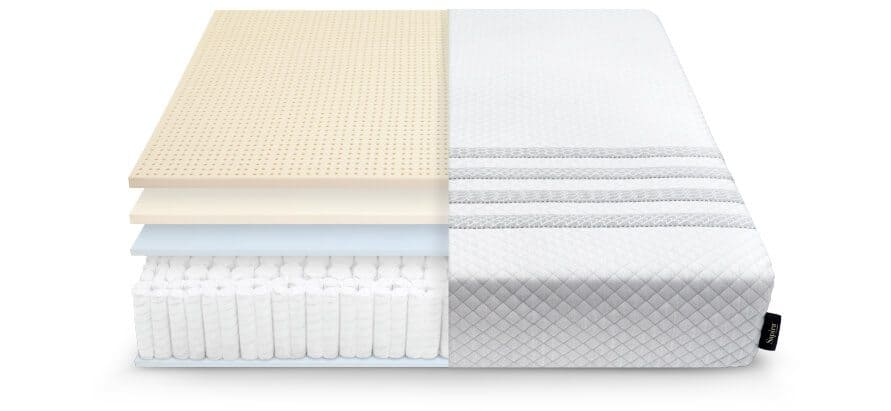 Sapira mattress layers cutout