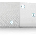 a look at the leesa pillow, left side has the same cover as you find on a lessa mattress