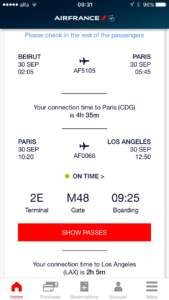2 hours to transfer from AF66 to my phoenix flight