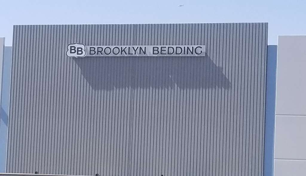 Outside the Brooklyn Bedding Factory