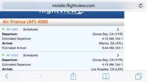 They changed the destination from LAX to ATL