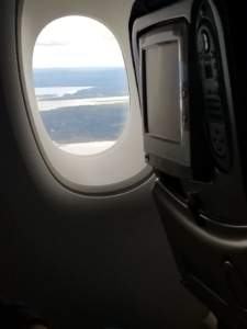Picture of Goose Bay Canada during emergency landing of Air France 66