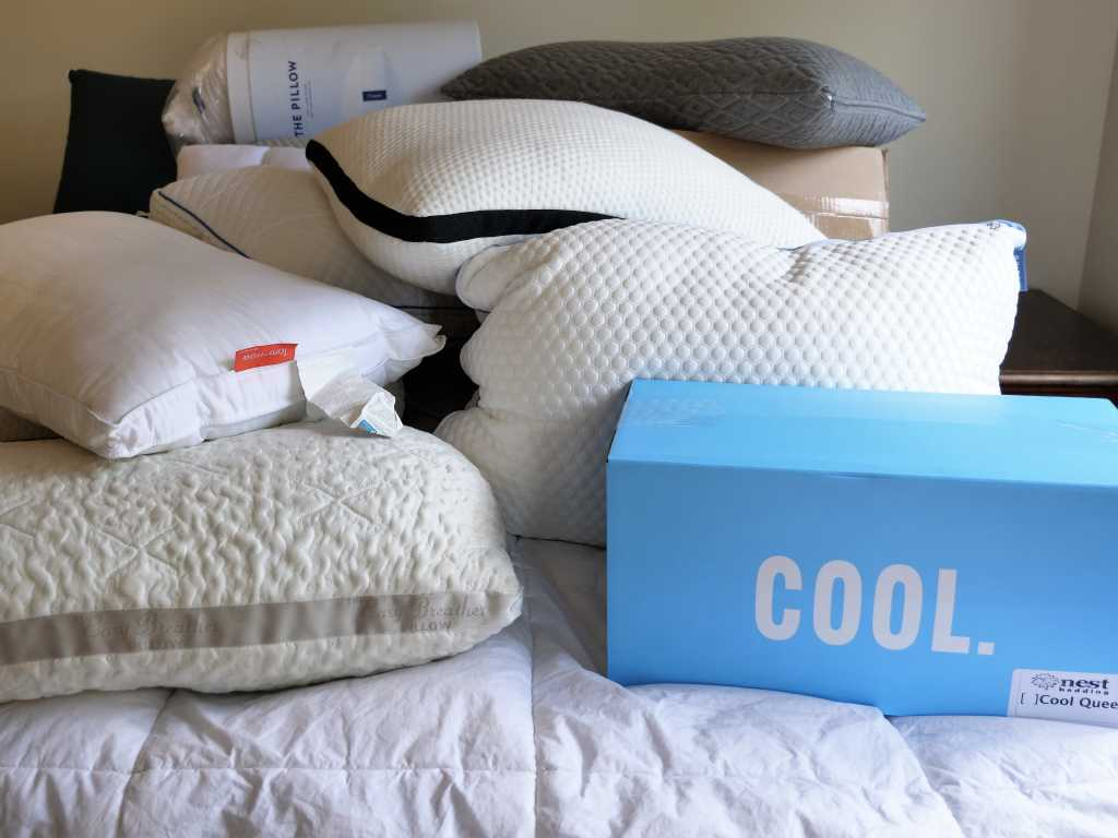 a collection of pillows for the ultimate pillow fight