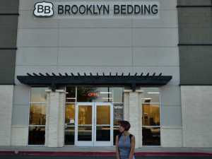 visit to the brooklyn bedding store in scottsdale