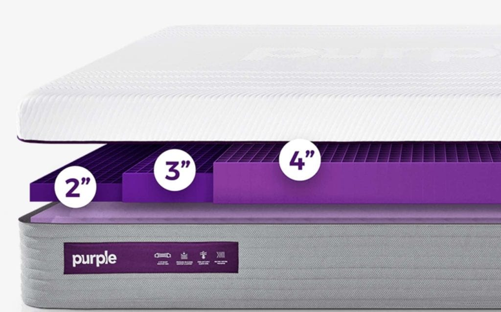 The New Purple Hybrid Mattress