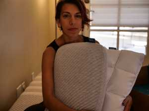 Leesa Pillow and the new leesa hybrid pillow