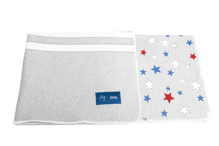 aly raisman stars and stripes blanket by leesa