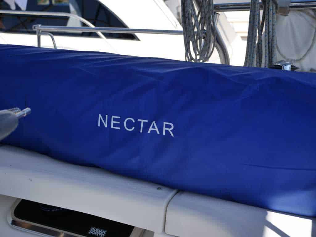 Nectar Mattress tube on a boat