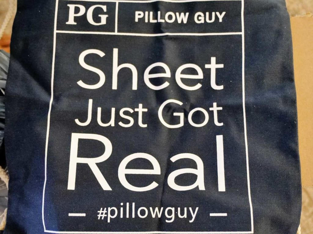 pillow guy bag
