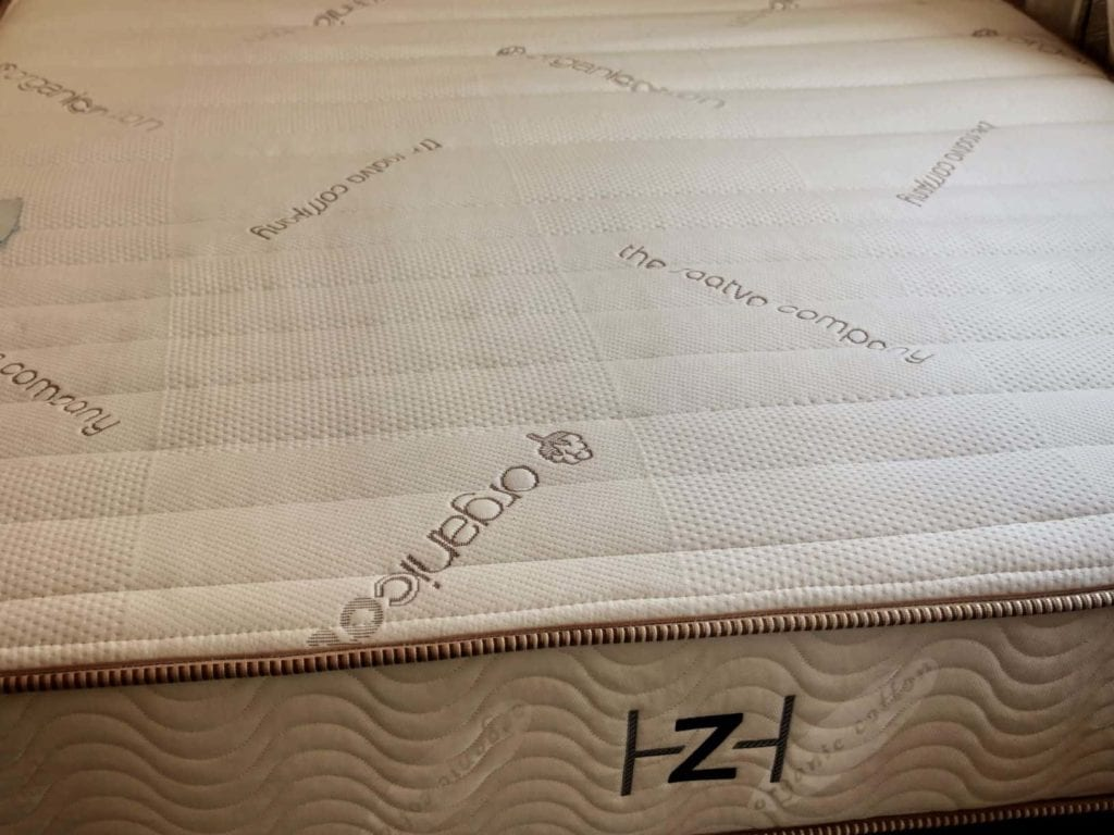 zenhaven latex mattress with organic cotton cover