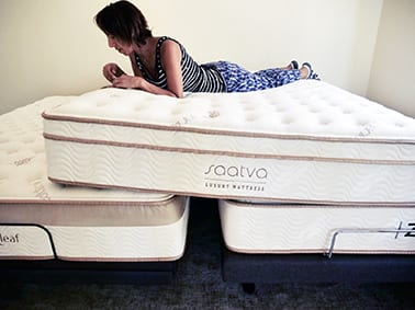 saatva loom and leaf and zenhaven mattresses