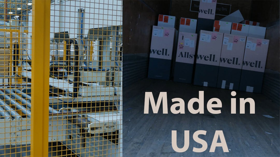 allswell mattresses being made at the phoenix az factory