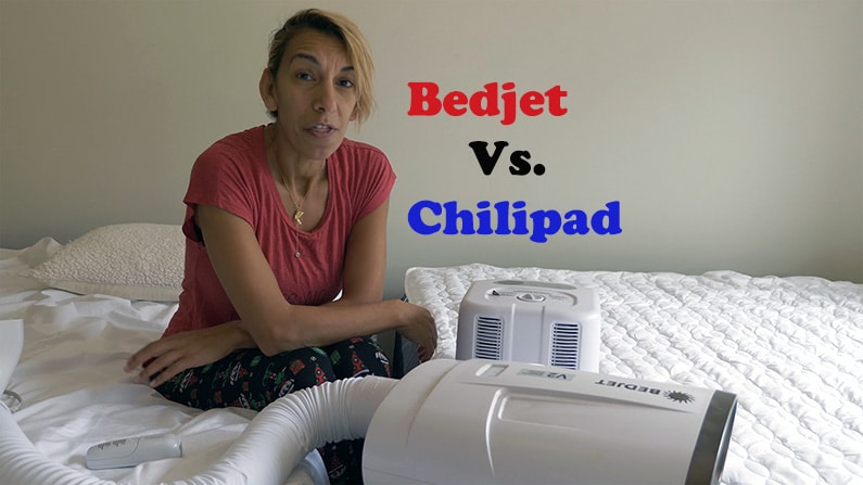 Rana discussing the Bedjet vs chilipad