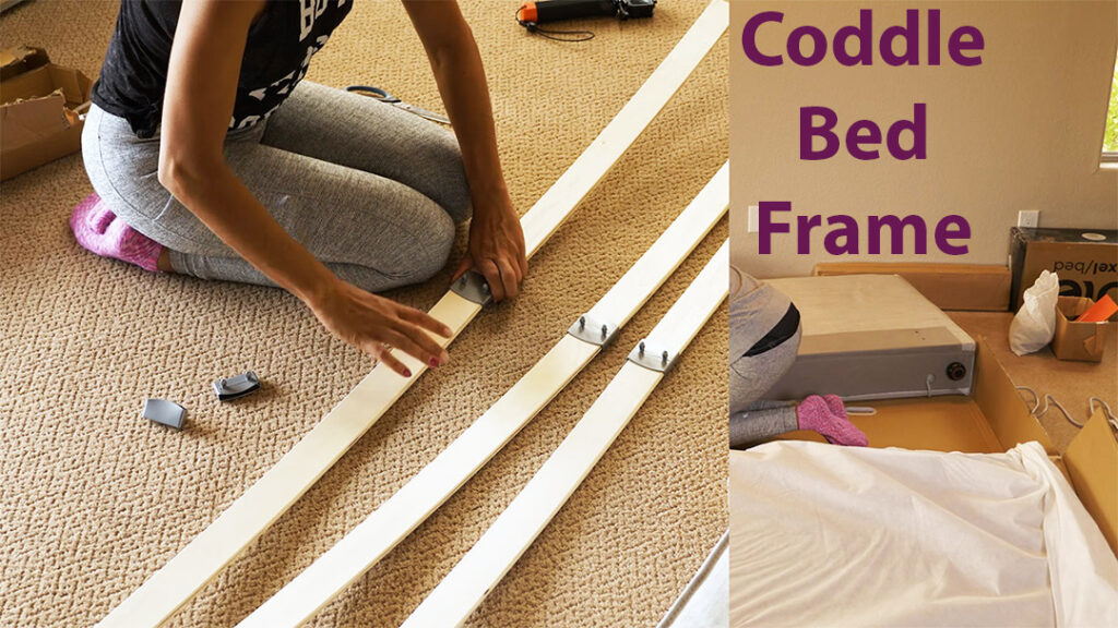 coddle bed frame assembly
