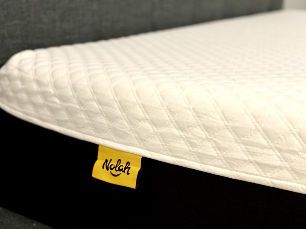 Nolah Signature 12 organic cotton cover review