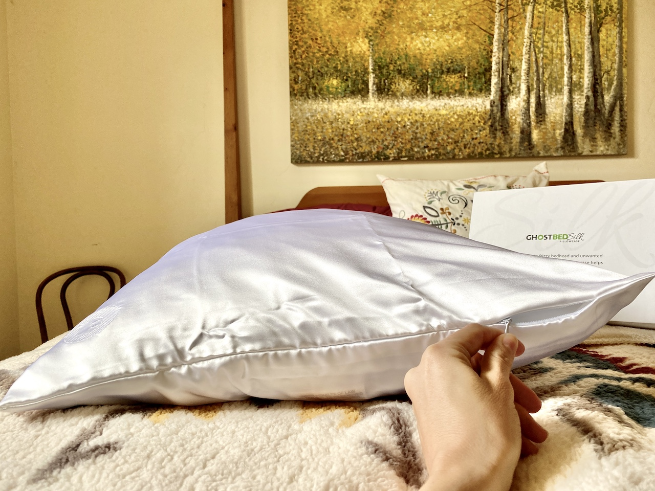 GhostBed Silk Pillowcase review