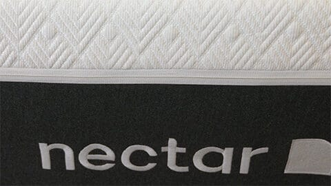 front of nectar lush mattress
