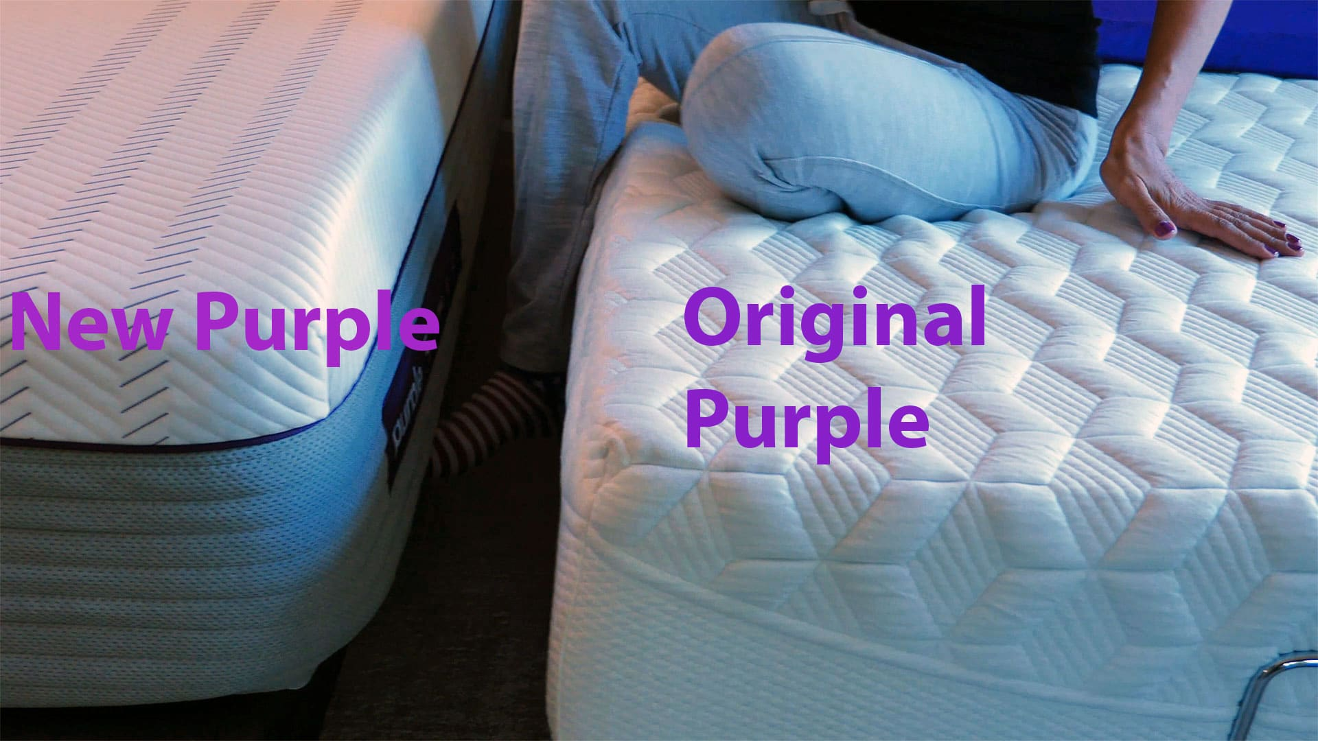 New Purple.3 Mattress and Original Purple