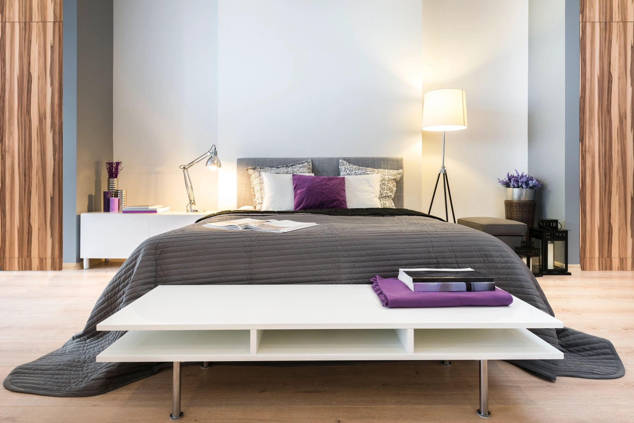 stock bed photo